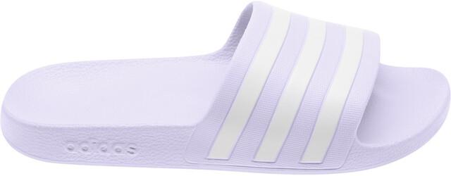 adidas Adilette Aqua Claquettes Femme, purple tint/footwear white/purple  tint